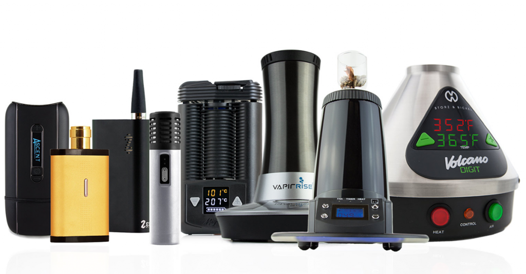 types of portable vaporizers